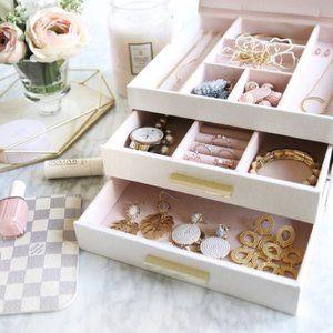 Lauren Conrad fabric jewelry box